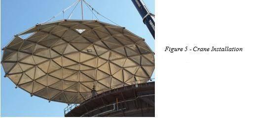 techo domo geodesico